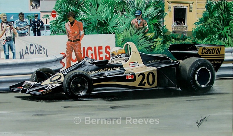 Jody Scheckter - Monaco 1977 - Formula 1 cars and drivers