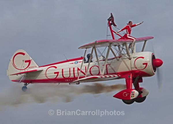 Team Guinot Wing Walkers  / Boeing Stearman Biplane