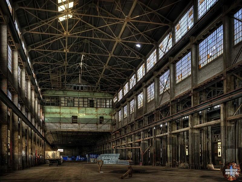 Bethlehem Steel (Bethlehem, PA)   Machine Shop #2 Annex - Bethlehem Steel