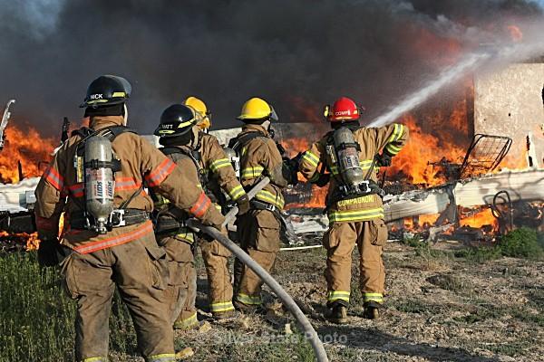 Carr Lane - Trailer Fire - Fallon/Churchill Fire Department