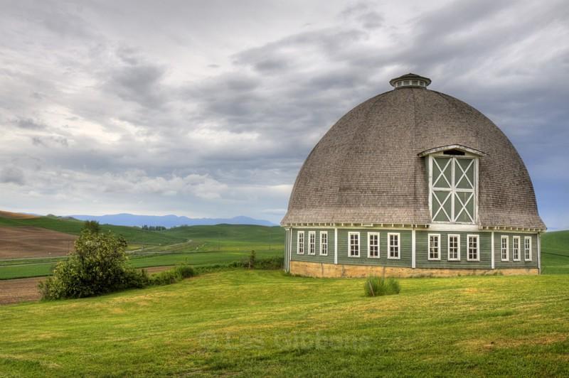 green barn 2 - Palouse