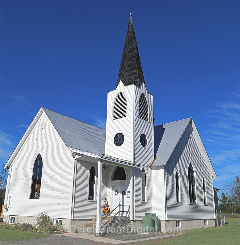 Taymouth United Church Taymouth New Brunswick Canada - Churches of New Brunswick