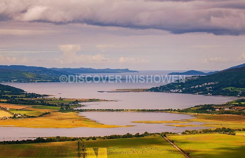View from An Grianan - Inishowen peninsula
