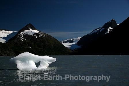 Portage Ice Flow 1 - Alaska & Canada