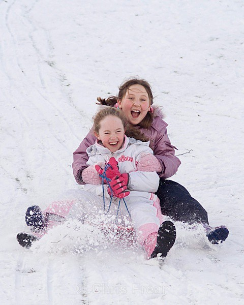 sled-11 - Sledging in the Snow