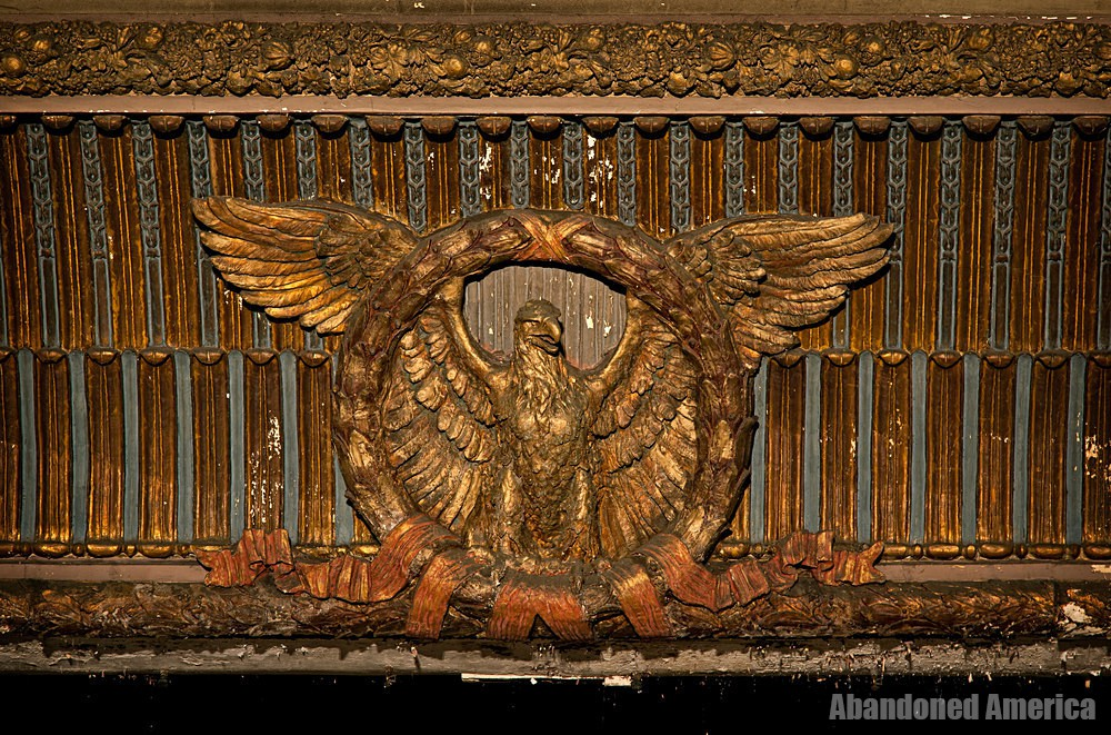 Victory Theatre (Holyoke MA) | Eagle Proscenium Medallion - The Victory Theatre