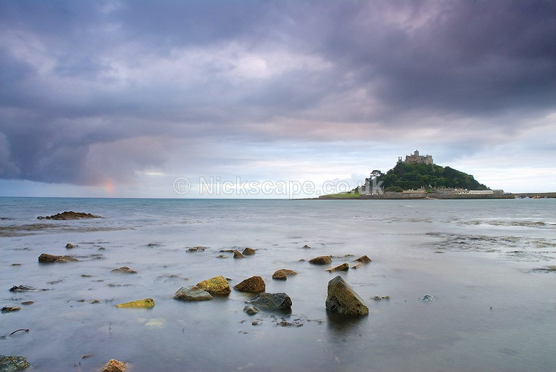 St Michael's Mount and Mounts Bay | Cornwall Photography by Nick Cocknan