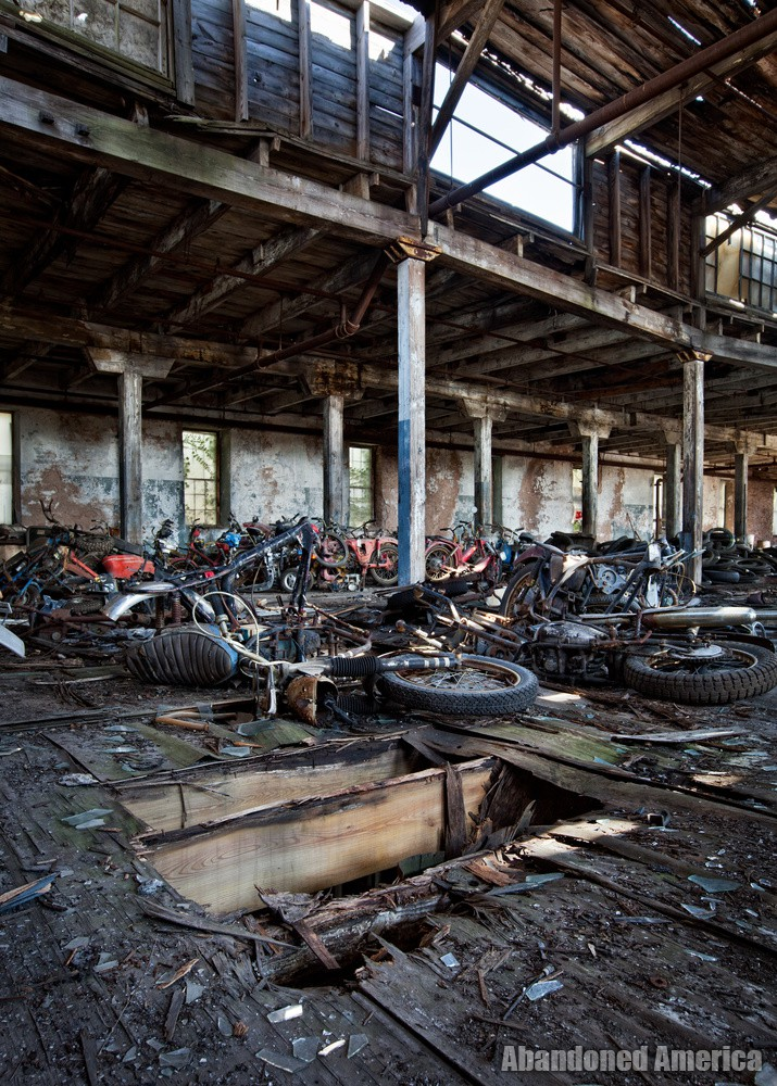 Kohl's Motorcycle Salvage, Lockport NY - Matthew Christopher Murray's Abandoned America