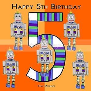 Greeting Cards - Birthday Boy 5