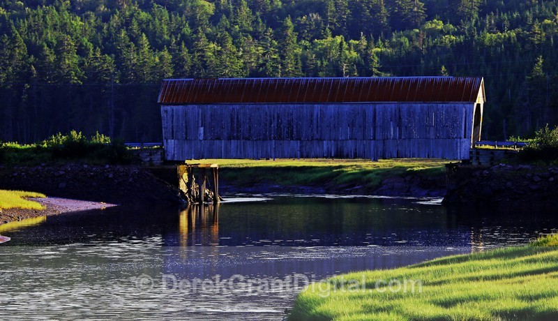 The Covered Bridges of New Brunswick Canada - New Brunswick Landscape