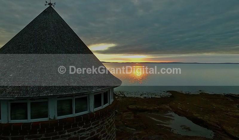 Sunrise @ The BathHouse Ministers Island - Ministers Island