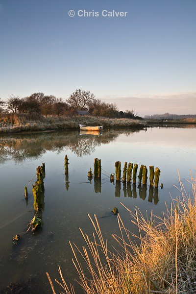 Frosty Reflections - Suffolk Coastal Scenes