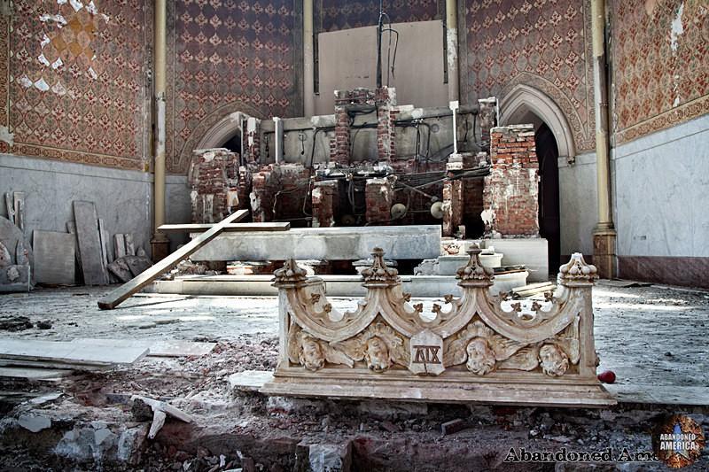 St. Boniface Church (Philadelphia, PA)   Altar Remnants - St. Boniface Church