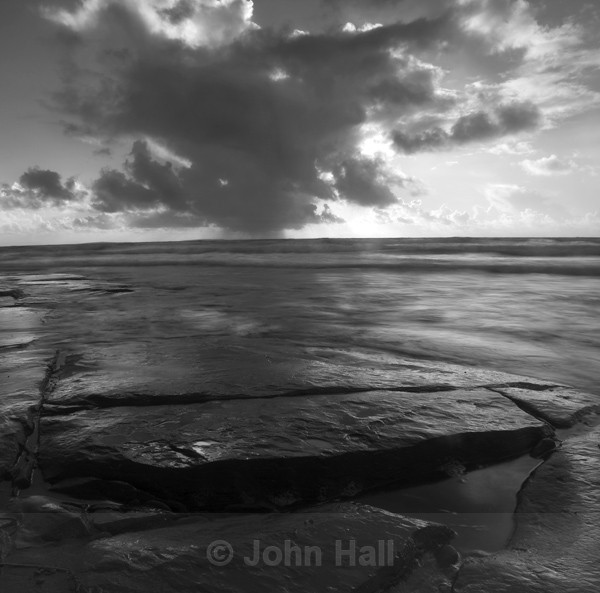 Fine Art Monochrome Of Fanore Beach, Black Head, Co. Clare, Ireland.