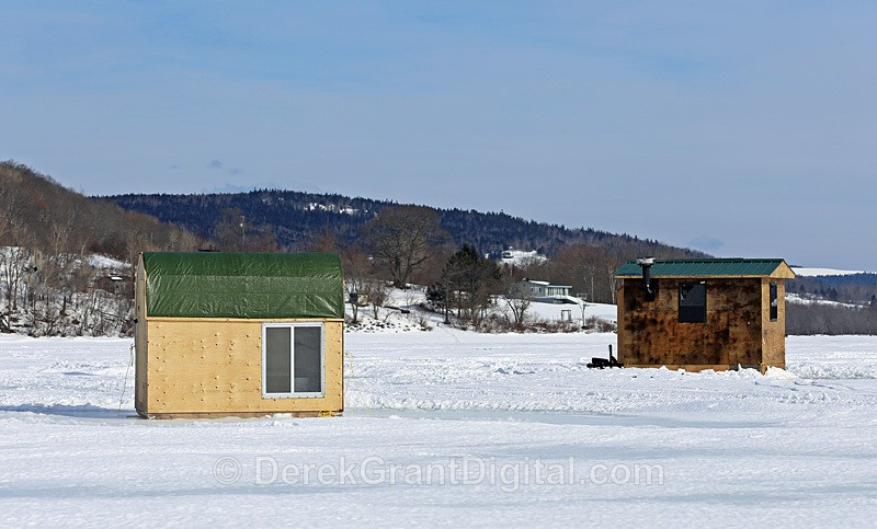 Belleisle Bay Ice Shacks - Ice Shacks