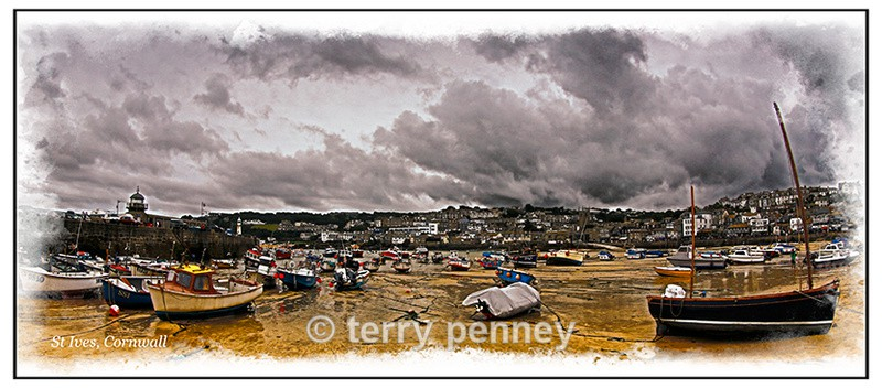St Ives Harbour - Cornwall