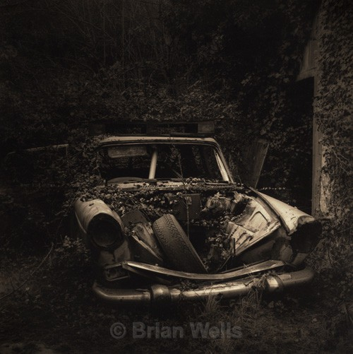 'Barn Find', Setchey - The Black & White Gallery