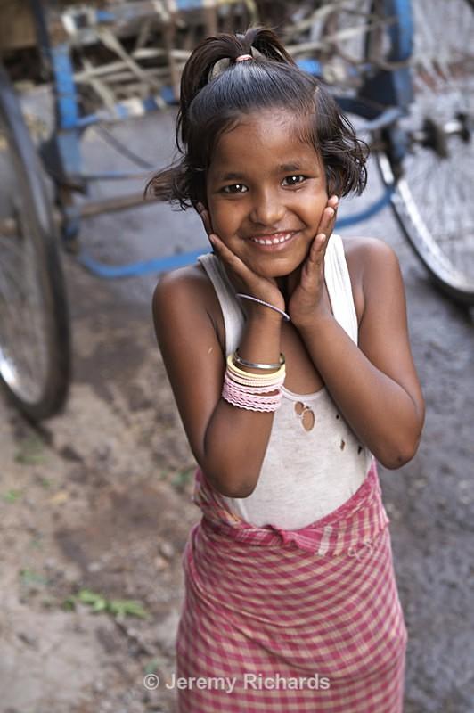 Street Girl - India