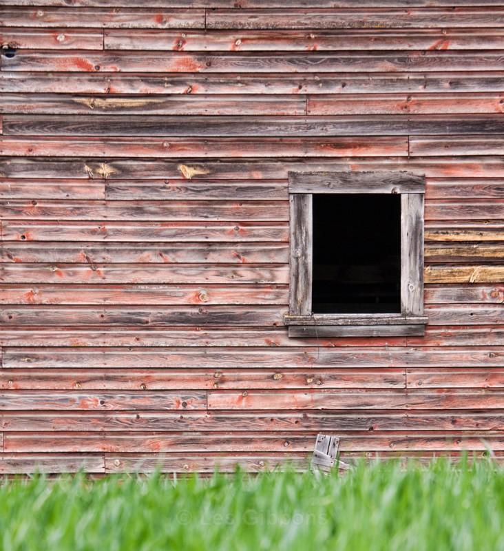 barn window - Palouse