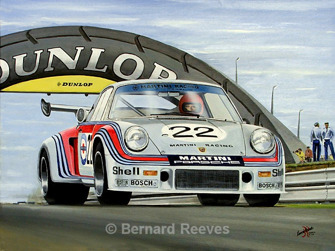 Porsche Carrera RSR Turbo Le Mans 1974 - Sports cars