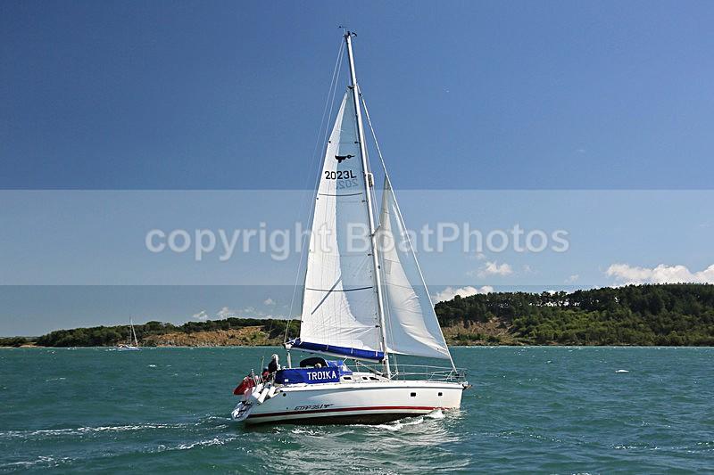 160806 TROIKA GBR2023L Y92A1211 - Sailboats - monohull