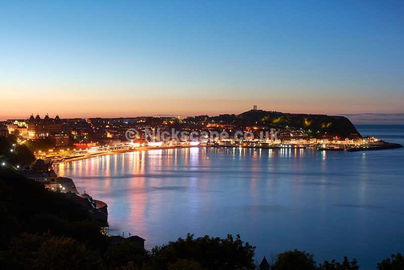 Lights Scarborough South Bay at Night - Yorkshire Coast - Latest Photos