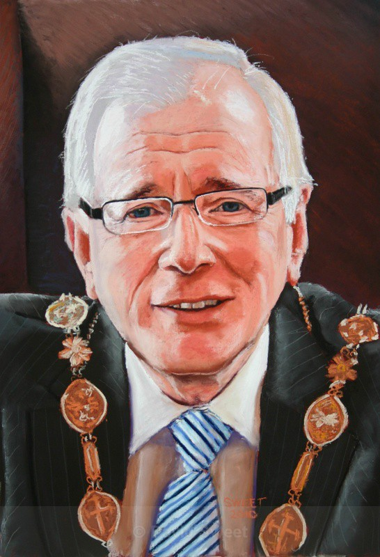 Allan Ewart, Mayor of Lisburn 2009 - Adult Portraits