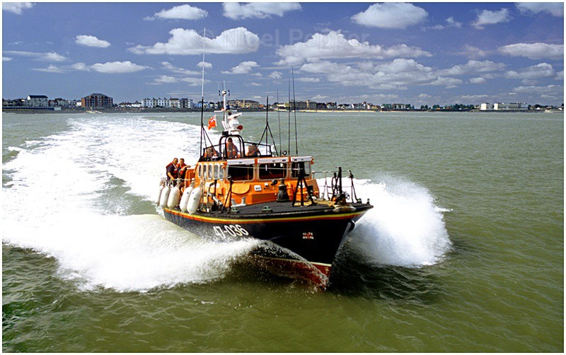 Lifeboat in Action - Lifeboats