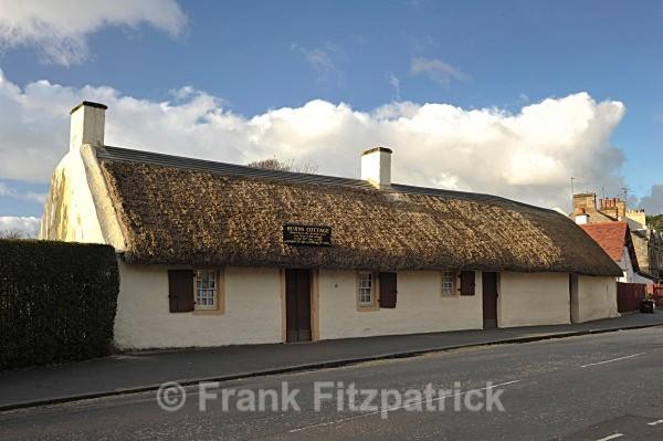 Burns cottage, Alloway, Ayrshire. - Robert Burns