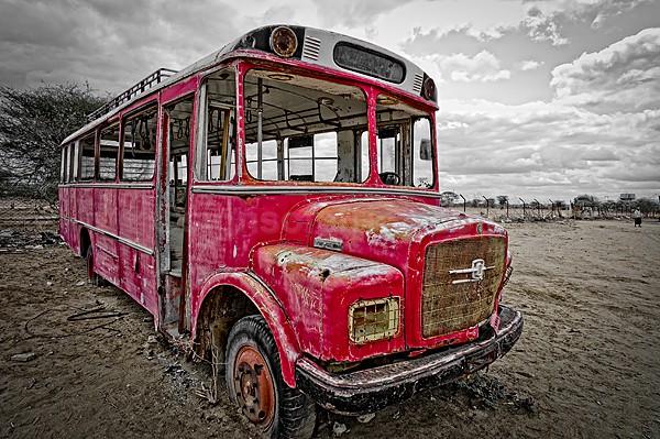Bus, TATA 1210 S, Liboi, Kenya
