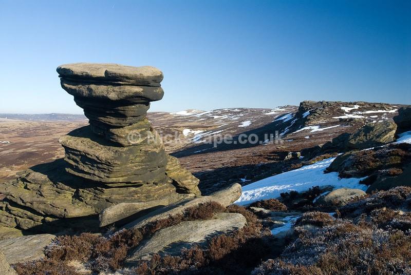 Salt Cellar on Derwent Edge | Peak District Photography