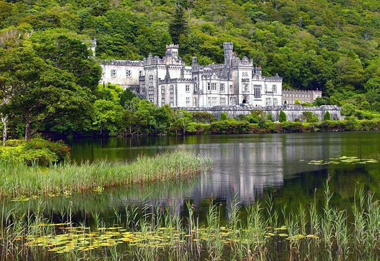 Kylemore Abbey - Landscapes of Ireland - County Donegal and the Wild Atlantic Way