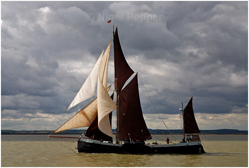 SB Thistle (1) - The Thames Barge Match