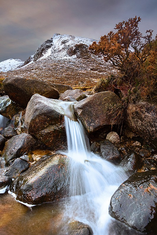 Icy Trassey River - In The Mourne Mountains