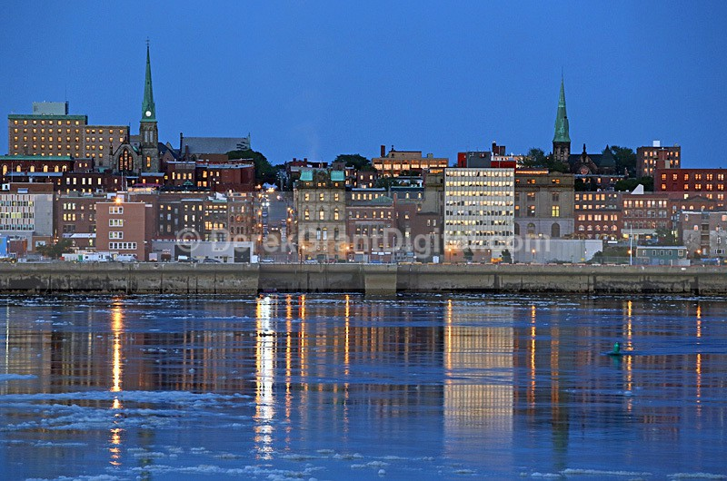Saint John New Brunswick Canada - Harbour View - Saint John