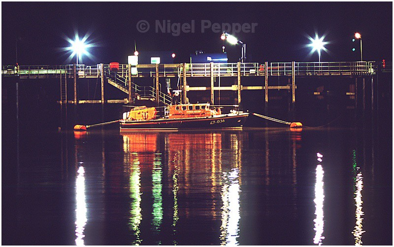 Lifeboat at Night (2) - Lifeboats