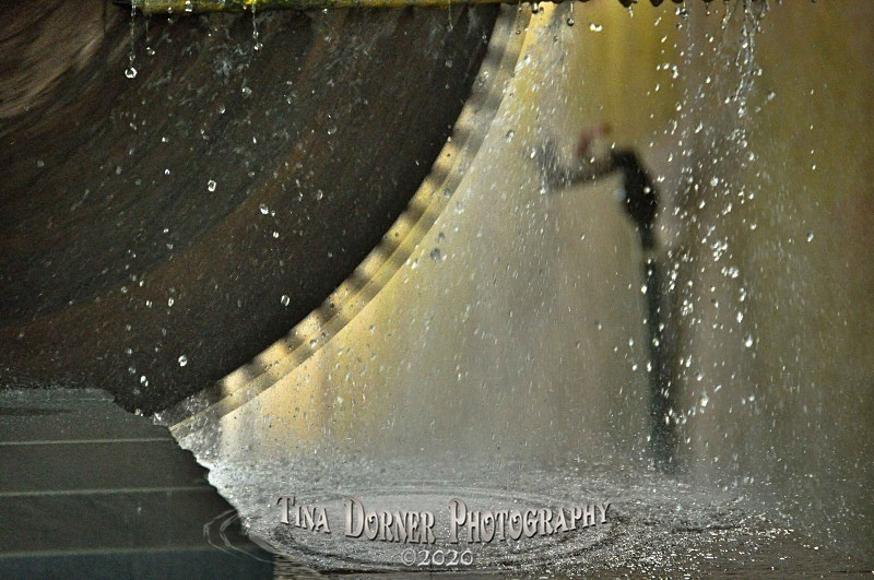 Stone Cutting Saw by Tina Dorner Photography, Forest of Dean and Wye Valley, Gloucestershire