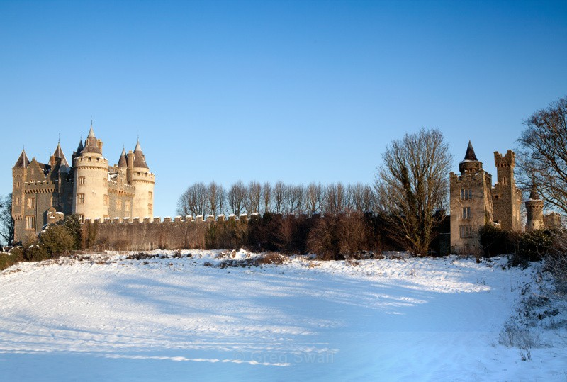 A Castle in Winter - Killyleagh and Delamont