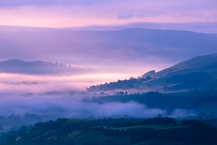 Mist and Colours Mam Tor | Hope Valley Light