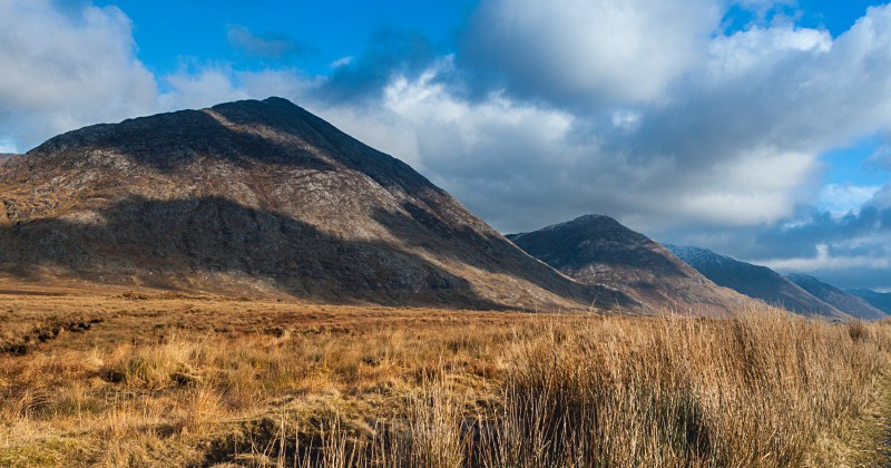 The Maumturk Mountains - Landscapes of Ireland - County Donegal and the Wild Atlantic Way