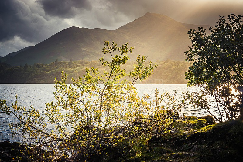 Threating Clouds over Causey Pike, Lake District - Moments of Light Gallery