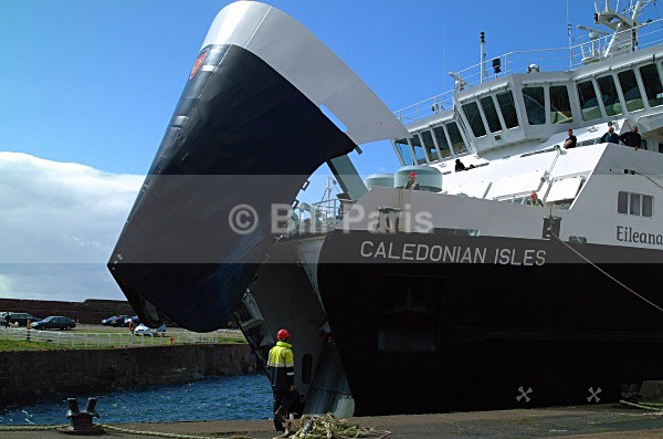 Ferry at Ardrossan - Land and Sea