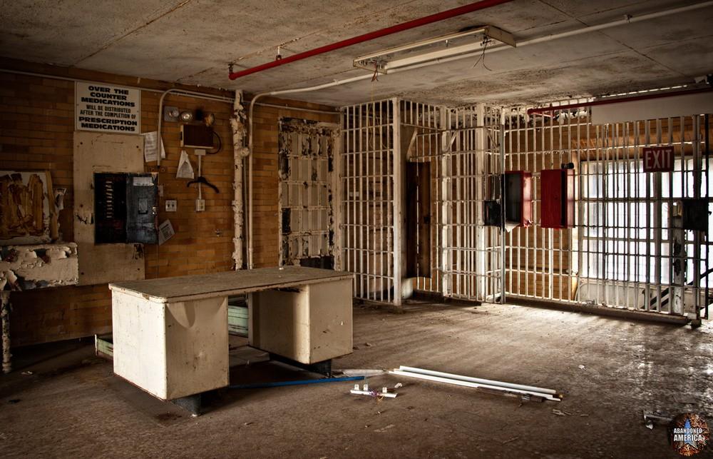 Essex County Jail Annex (Caldwell, NJ)   Guard Desk - Essex County Jail Annex