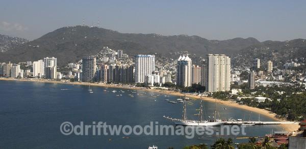 Acapulco Bay, Mexico - Central America