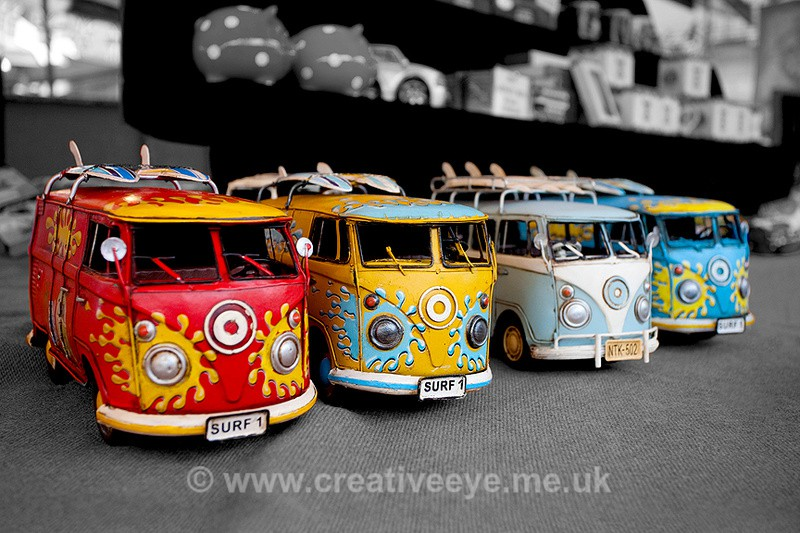 Camper Vans - Colour Popping