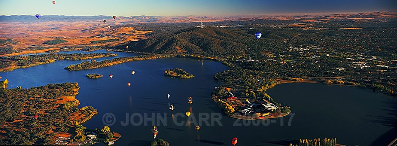 AERIAL VIEW OF THE NATIONAL MUSEUM OF AUSTRALIA, CANBERRA 2-107789 - AERIAL PHOTOS
