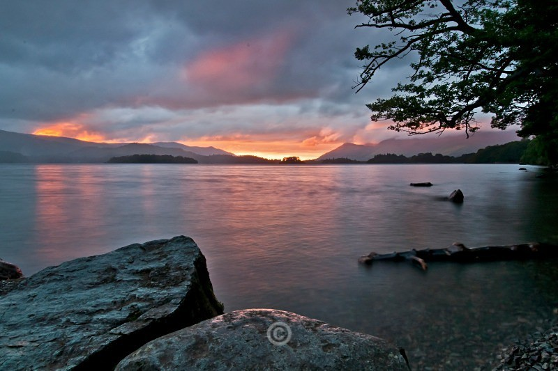 KESWICK SUNSET - Lake District
