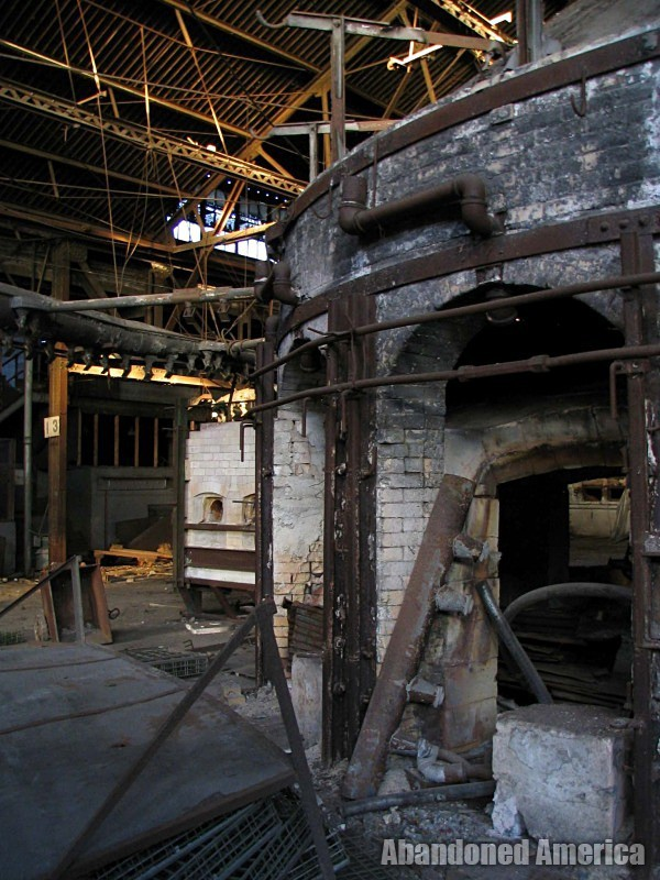 Fostoria Glass Company (Moundsville, WV)   Kiln - The Fostoria Glass Company