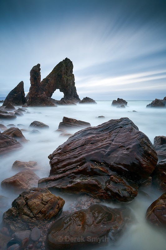 Mystical Sea Arch at Crohy Head - Breeches Sea Arch