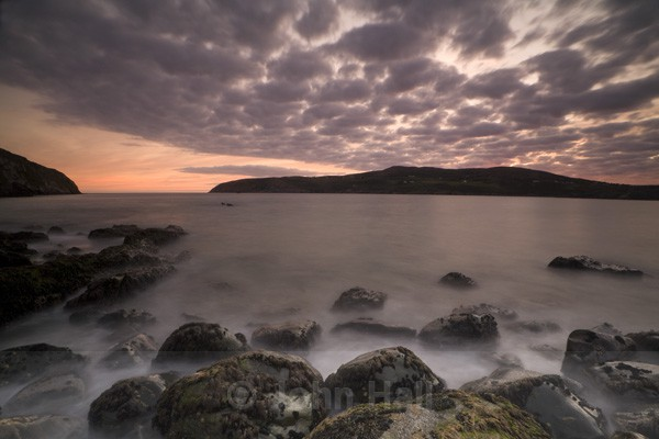 Barleycove Boulders At Sunset, Mizen Head, West Cork, Ireland.